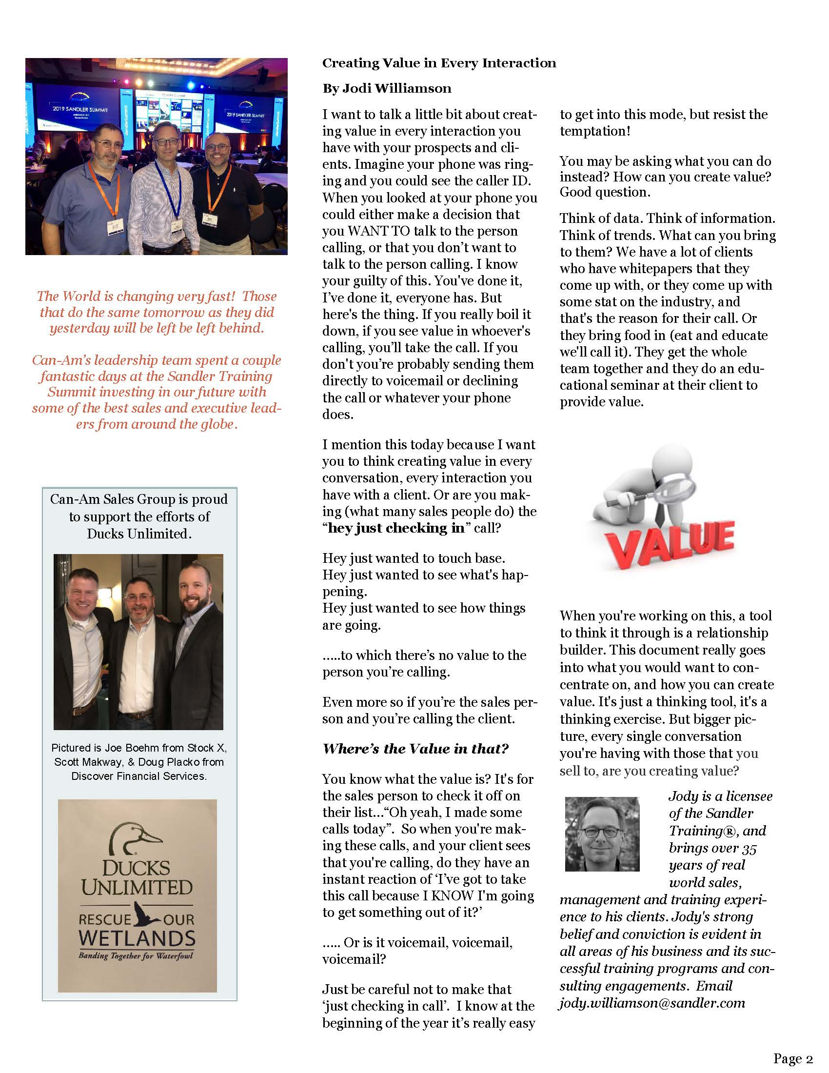Can-Am Sales Group Newsletter Vol2-page2