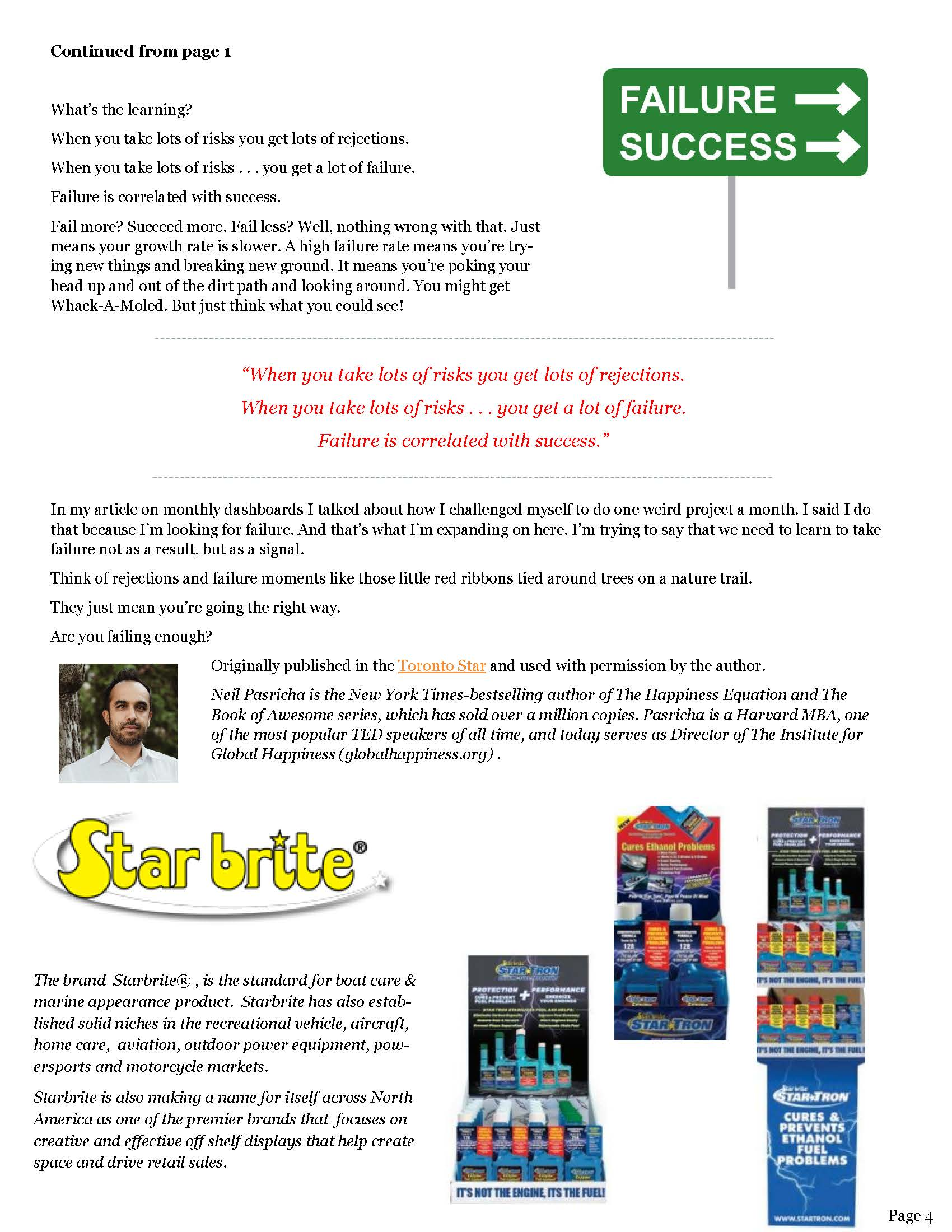 Can-Am Sales Group Newsletter Vol2-3-page 4