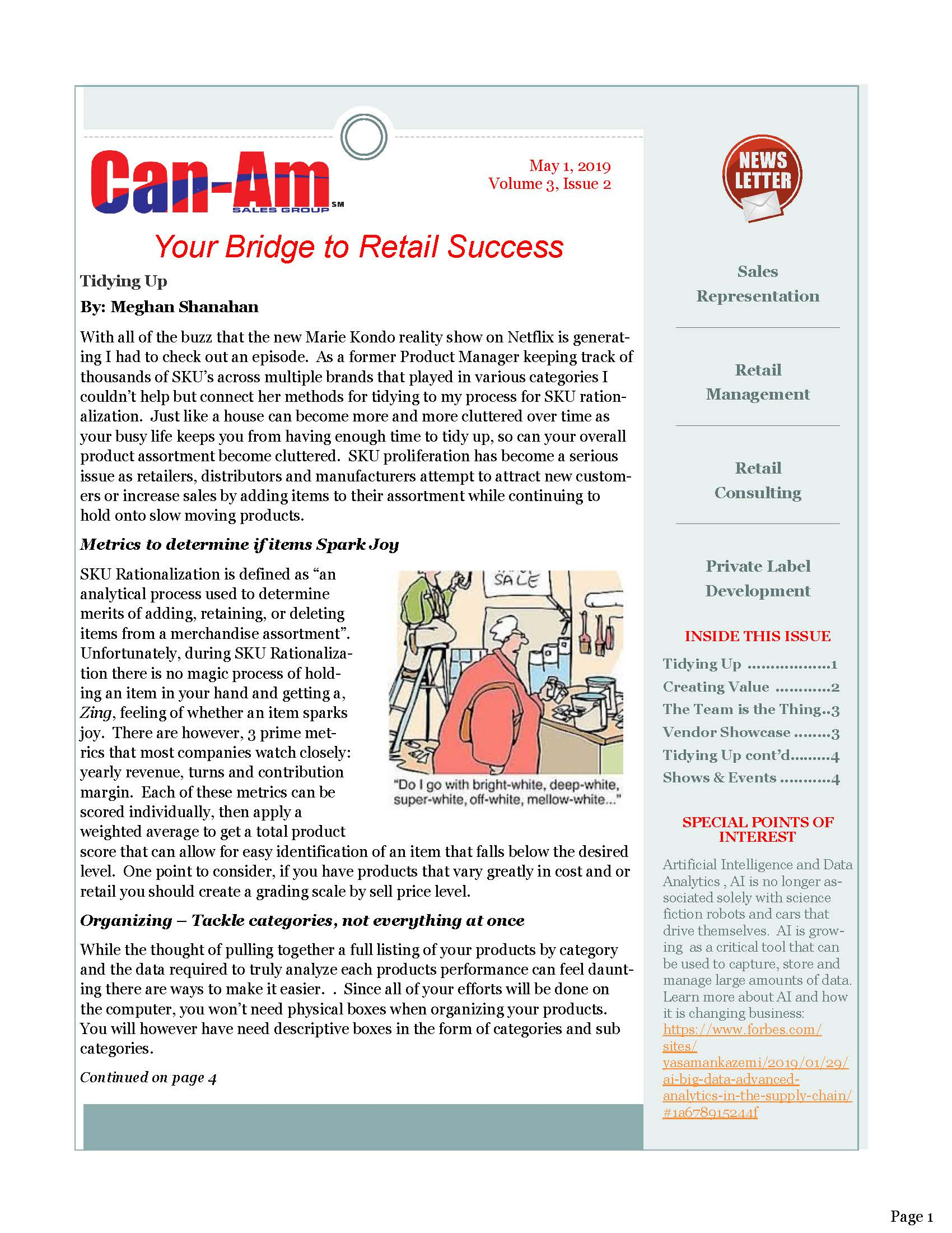 Can-Am Sales Group Newsletter Vol2-page1