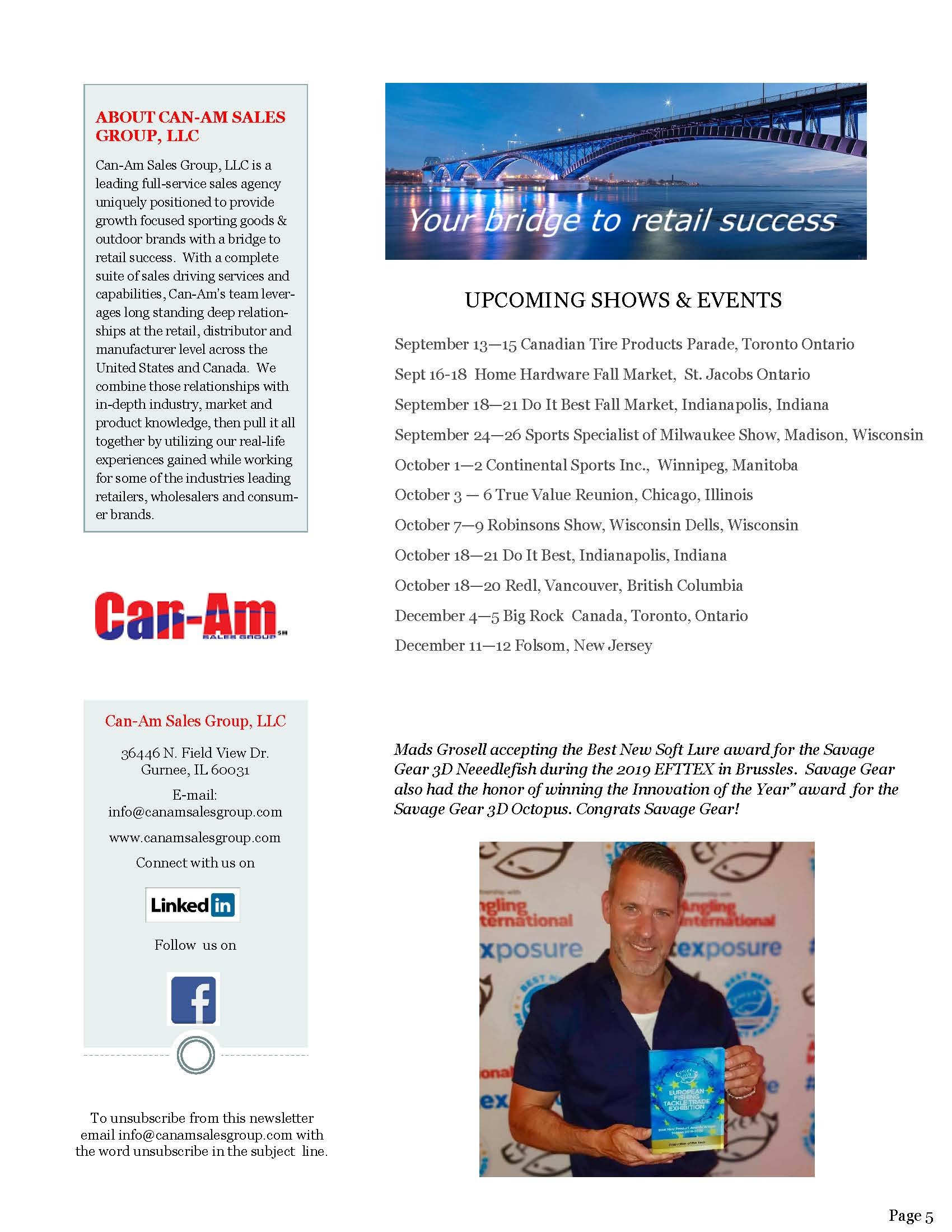Can-Am Sales Group Newsletter Vol2-3-page 5